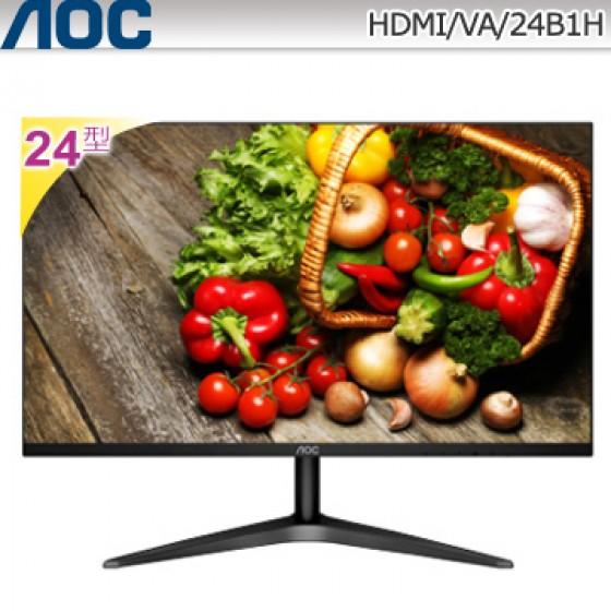 AOC 24型VA廣視角美型螢幕 24B1H
