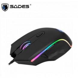 賽德斯 SADES SCYTHE 幻影狼鐮 RGB 電競滑鼠